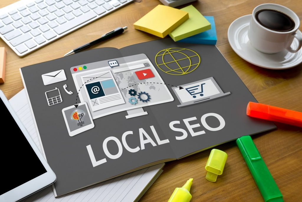 collage about local seo
